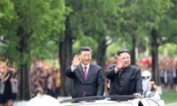 Presiden Tiongkok, Xi Jinping mengakhiri kunjungan di RDRK