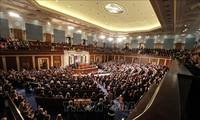 Senat AS menolak upaya mencegah Presiden Donald Trump dalam  mencanangkan perang terhadap Iran