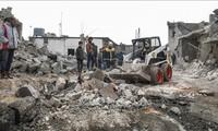 Serangan udara membasmi banyak benggolan pemberontak yang bersangkutan dengan al-Qaeda di Suriah
