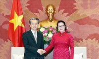 Ketua MN Vietnam, Nguyen Thi Kim Ngan menerima Duta Besar Tiongkok