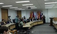 Jumpa pers tentang peranan ASEAN di kawasan Indo-Pasifik di Indonesia