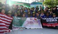 "Mahasiswa Malaysia ikut serta pada Kampanye Relawan ""Musim Panas Hijau"" di Vietnam"