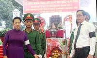 Ketua MN Nguyen Thi Kim Ngan menghadiri upacara belasungkawa dan upacara pemakaman tulang belulang martir di Provinsi Tay Ninh