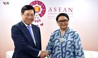 Vietnam-Indonesia memperkuat kerjasama tentang masalah-masalah di laut