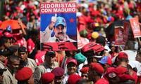 Pawai di Venezuela untuk memprotes sanksi-sanksi AS
