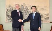 Utusan Khusus AS dan Republik Korea membahas pengadaan kembali perundingan nuklir dengan RDRK