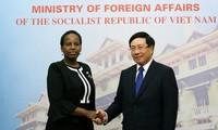 Vietnam-Botswana mendorong hubungan kerjasama bilateral menjadi intensif dan berhasil-guna
