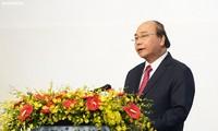 PM Nguyen Xuan Phuc dan Istri memimpin resepsi sehubungan dengan peringatan Hari Nasional 2/9