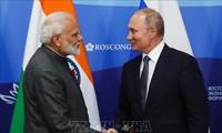 Pimpinan Rusia dan India mengeluarkan pernyataan bersama