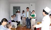 PBB melakukan perundingan dengan RDRK tentang program-program bantuan kemanusiaan