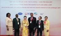 Mendorong kerjasama di banyak segi antara Vietnam dan negara-negara Timur Tengah dan Afrika