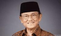 Tilgram belasungkawa tentang wafatnya mantan Presiden Indonesia, Bacharuddin Jusuf Habibie