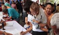 Venezuela meneruskan kampanye menentang sanksi-sanksi AS