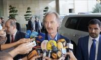 Utusan Khusus PBB melakukan kunjungan di Suriah untuk mendorong proses perdamaian