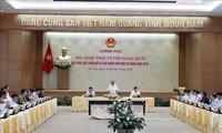 PM Nguyen Xuan Phuc memimpin Konferensi Nasional Online tentang pendorongan, alokasi dan pengucuran modal investasi publik tahun 2019