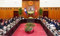 PM Republik Demokrasi Rakyat Laos mengakhiri kunjungan resmi di Vietnam