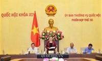 Pembukaan persidangan ke-38 Komite Tetap MN Vietnam