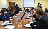 """Lokakarya """"Hubungan Rusia-ASEAN, peranan Vietnam"""" di Federasi Rusia"""
