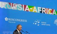 Presdien Rusia menegaskan prioritas dalam mengembangkan hubungan dengan Afrika