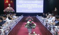 Ketua Pengurus Besar Front Tanah Air Vietnam Melakukan Kunjungan Kerja di Provinsi Son La