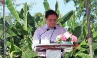Para Pemimpin Partai dan Negara Menghadiri Hari Persatuan Besar Seluruh Bangsa di Provinsi Bac Lieu