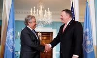 Ketegangan AS-Iran: Menlu AS Melakukan Perbahasan Dengan Sekjen PBB tentang Situasi di Timur Tengah