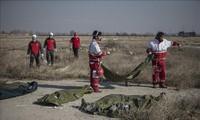 Ukraina akan memberikan santunan kepada keluarga para korban dalam kecelakaan pesawat terbang di Iran