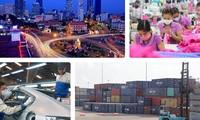 Ekspor mencapai pertumbuhan secara spektakular, menegaskan posisi poros dari perekonomian Vietnam