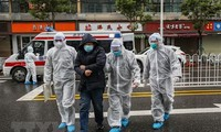 Provinsi Hubei mengupdate jumlah orang yang terinfeksi  Covid-19 pada Kamis (13/2)
