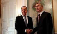 Menlu Rusia dan Sekjen NATO membahas keamanan Eropa