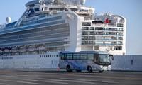 Penumpang Inggris dan Israel dari kapal pesiar Diamond Princess dengan tes positif  virus SARS-Co V-2