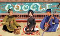 """Google memuliakan lagu rakyat """"Ca Tru Vietnam"""""""