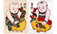 Memperkenalkan sepintas lintas tentang beberapa lukisan tradisional Dong Ho