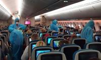 Dua misi penerbangan khusus membawa 600 warga Uni Eropa di Vietnam pulang kembali Tanah Air
