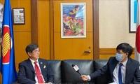 Jepang menekankan tuntutan berbagi informasi untuk melawan wabah Covid-19