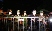 Kota Hanoi menghapuskan perintah isolasi di desa Ha Loi, kecamatan Me Linh, Kota Hanoi