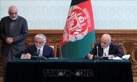 NATO, dan AS menyambut baik permufakatan pembagian kekuasaan di Afghanistan