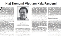 Sarjana Indonesia menilai tinggi keberhasilan Vietnam dalam mencegah dan memberantas wabah Covid-19