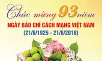 Menyambut Hari Pers Revolusioner Vietnam (21/6)