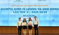 """Kontes Ilmu Pengetahuan Mahasiswa Nasional dengan tema: """"Olimpiade Ekonometrika dan Terapan"""""""