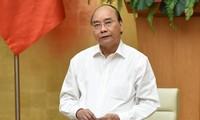 PM Nguyen Xuan Phuc melakukan rapat kerja dengan pemimpin Provinsi Phu Tho