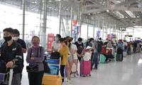 Memulangkan 230 warga negara Vietnam dari Thailand kembali ke Vietnam