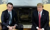 AS dan Brasil Menandatangani Kesepakatan-Kesepakatan Kerja Sama Baru