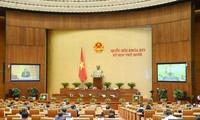 Anggota MN Menyetujui Pemberlakuan Rancangan Resolusi tentang  Organisasi Pemerintahan Perkotaan di Kota Ho Chi Minh