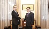 Mendorong Hubungan Kemitraan Strategis yang Intensif dan Ekstensif Vietnam –Jepang
