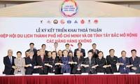 Deputi Perdana Menteri Vu Duc Dam Menghadiri Konferensi Konektivitas Pengembangan Pariwisata antara Kota Ho Chi Minh dan 8 Provinsi Kawasan Barat Laut