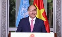 PM Nguyen Xuan Phuc Mengirim Pesan tentang Pencegahan dan Penanggulangan Wabah Covid-19 di Majelis Umum PBB