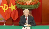 Pemimpin Negara, Partai, dan Sahabat Internasional Kirimkan Surat dan Telegram Ucapan Selamat kepada Sekjen KS PKV, Presiden Nguyen Phu Trong