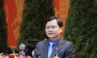 """Pengurus Besar Liga Pemuda Komunis Ho Chi Minh Berikan Lencana Peringatan """"Demi Generasi Muda"""" kepada 78 Individu"""