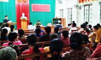 Warga Katolik Provinsi Ha Tinh Bersiap Menuju Hari Pemilihan